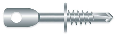 """1/4 x 3-1/4"""" Acoustical Eye LAG ZINC Plated SELF-Drilling 1M Box from Strong-Point"""