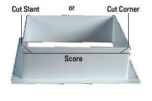 Perfect Atwood (1060 81) White 6u0026quot; Roof Vent Garnish