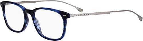 Eyeglasses Boss (hub) BOSS 1015 038I Blue Horn / 00 Demo Lens from Hugo Boss
