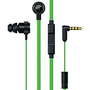 Razer Hammerhead Pro V2: 10 mm Dynamic Drivers - Durable Aluminum Chassis and Flat-Style Cable - In-Line Controls - Works with PC, PS4, Xbox One, Switch, & Mobile Devices