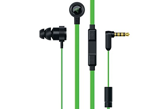 Razer Hammerhead Pro V2 - Flat Style Cables with Omnidirectional Microphone and Volume Controls