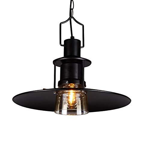 Graphite Finish Pendants - KY LEE Barn Metal Pendant Light Farmhouse Industrial Lighting Fixture Graphite Finish Vintage Hanging Light