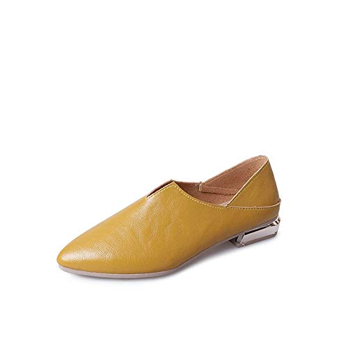 Adult Slide Buckle Tap Shoes T9200(Yellow-Lable 39/8 B(M) US Women)