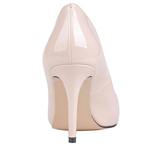 MERUMOTE - Zapatos de tacón fino Mujer - Nackt-Lackleder