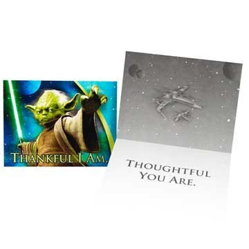 Star Wars Thank You Notes 8ct -