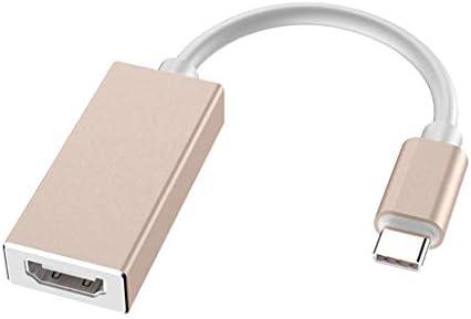 Adaptador USB C A HDMI,Tipo-C A HDMI (Compatible con Thunderbolt 3) Divisor HDMI 4K Computadora Teléfono Conectado HD TV Proyección USB 3.1 A HDMI para Windows/Vista/Mac OS, Etc.: Amazon.es: Hogar