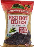 n Tortilla Chips Red Hot Blues - 8.1 oz ()