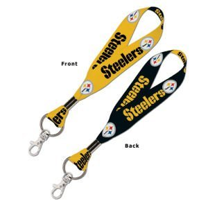 WinCraft NFL Pittsburgh Steelers Lanyard Key Strap, 1