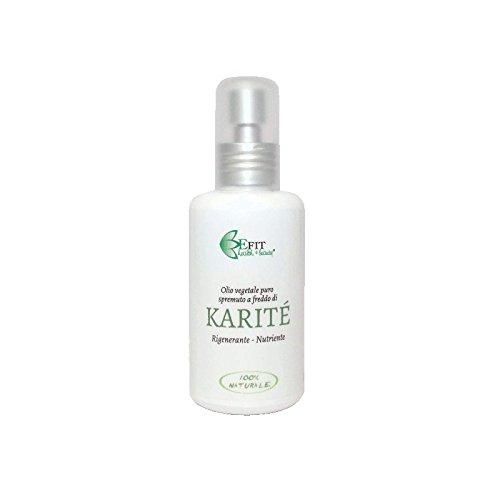 Efit Health & Beauty Olio Vegetale di Karitè - 100 ml OVKA000