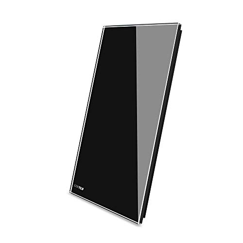 LIVOLO Black US Standard,Glass Panel For All Blank Switch(No Switch Function Only For Decoration), C5-C0-12
