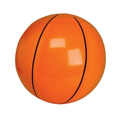 16-inch Basketball Inflate (Bulk Pack of 12 Inflatables)
