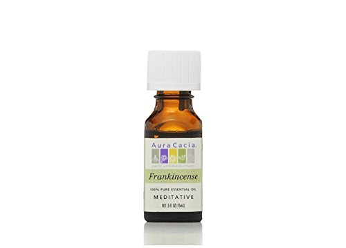 Aura Cacia Frankincense Essential Oil 0.5 oz