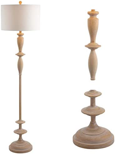 JONATHAN Y JYL3061A Aldrin 63.5″ Resin LED Floor Lamp Traditional,Transitional