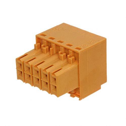 TERM BLOCK PLUG 10POS STR 3.5MM (Pack of 5)