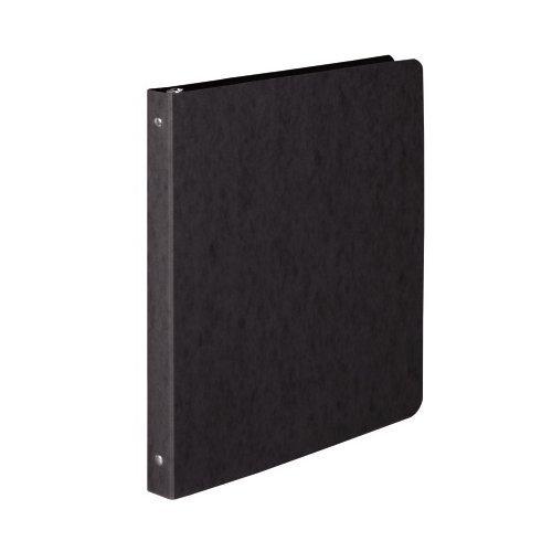 ACCO PRESSTEX 0.5 Inch Ring Binder, Letter Size, 100 Sheet Capacity, Black ()