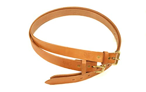 Gfeller Leather Belt - 1.25