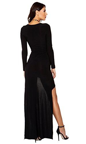 forplay Mujer vestido de cóctel Eve negro