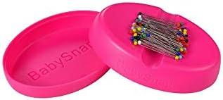 BabySnap Magnetnadelkissen inkl Pink Stecknadeln