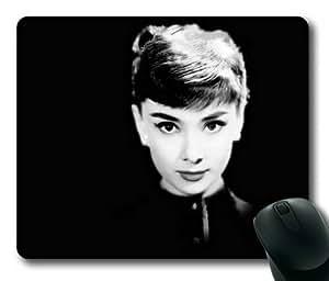 Audrey Hepburn Rectangle Mouse Pad by Sakuraelieechyan