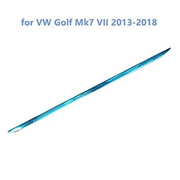 HIGH FLYING Molduras para maletero trasero de puerta exterior de alto volteo, 1 pieza de acero inoxidable para 5 puertas Hatchback accesorio para Golf 7 ...