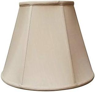 Royal Designs DBS-707-20LNBG Deep Empire Lamp Shade Linen Beige 10 x 20 x 15