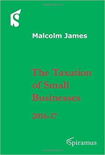 Taxation of Small Businesses: 2016-2017