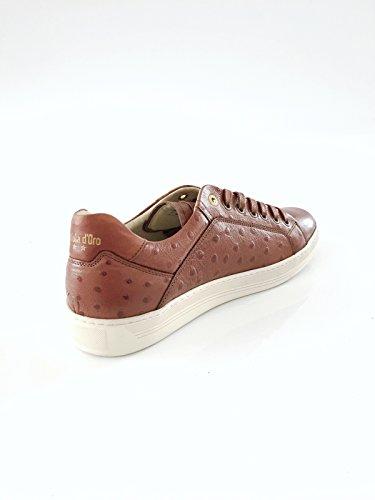 Pantofola dOro Herrenschuh Sneaker Echtleder braun Größe 41