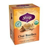 Yogi Chai Rooibos Tea, 16 Tea Bags (Pack of 6) Thank you for using our service
