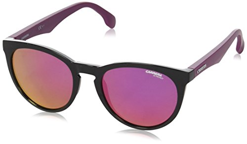 Carrera 5040/s Oval Sunglasses, MATTEPLUMBLACK, 53 ()