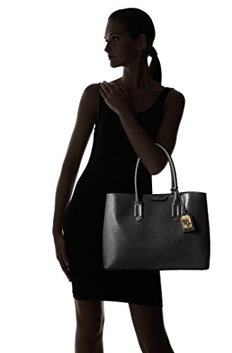 59eb520cc Ralph Lauren Tate City Tote Handbag In Black - RRP £280: Amazon.co.uk:  Shoes & Bags