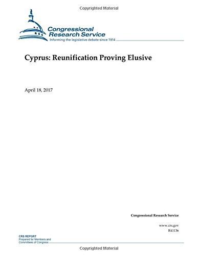 Download Cyprus: Reunification Proving Elusive pdf epub