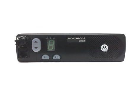 Motorola CM340 VHF 2 M HB Accessories and Programming