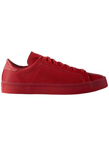 adidas Men's Courtvantage Basketball Shoes, Blue, 5 UK Dark Red