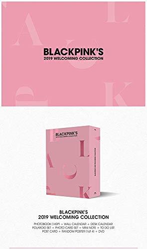 YG Blackpink - BLACKPINK'S 2019 Welcoming Collection DVD Album +