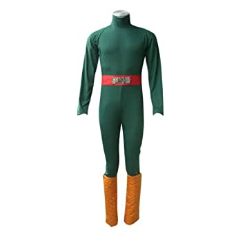 Naruto Cosplay Costume -Rock Lee 1st XX-Small