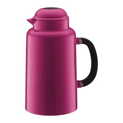 Bodum Chambord 34-Ounce Thermo Double Wall Vacuum Carafe, Pink
