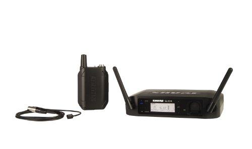 (Shure GLXD14/93 Digital Presenter Wireless System with WL93 Lavalier Microphone, Z2)