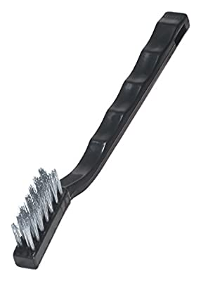 Warner 10025 Stainless Steel Mini Wire Brush (2 Pack) from Warner Manufacturing Co.
