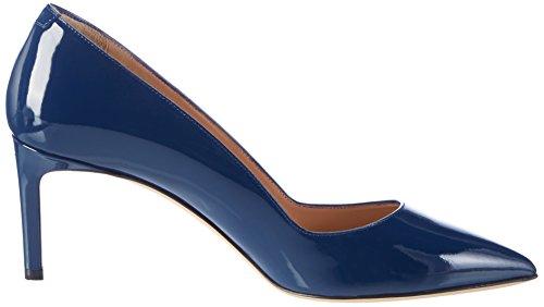 Bleu HUGO Femme Blue 01 Hellia Open p Escarpins 10191381 vCTqv