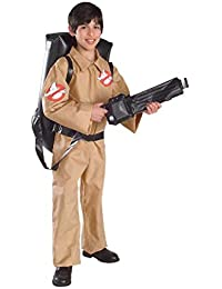 Ghostbusters Child's Costume, Small, Beige