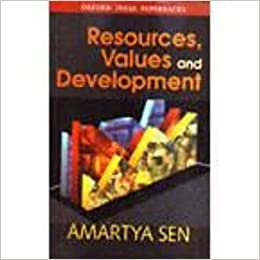 Resources, Values, and Development