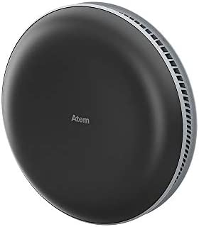 IQAir Atem Car Portable HEPA Air Purifier, Filters for Pollution, Odors, Gases, Car Fumes, and Asthma, Bacteria, Viruses, Airborne Infections, Great for Travel or Daily Commute