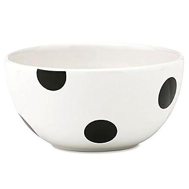 kate spade new york kitchen Deco Dot 5 Inch Fruit Bowl