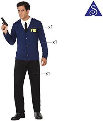 Atosa- Disfraz Hombre policía FBI, XL (17527): Amazon.es: Juguetes ...