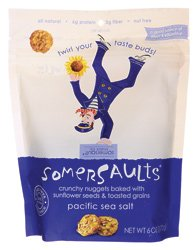 Crunchy Bites (Somersault Snack Co. Sunflower Seed Crunchy Bites - Sea Salt 6 oz (170 g) Pkg)