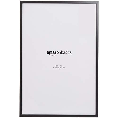 AmazonBasics Poster Photo Picture Frames - 24 x 36 Inches, 2-Pack, -