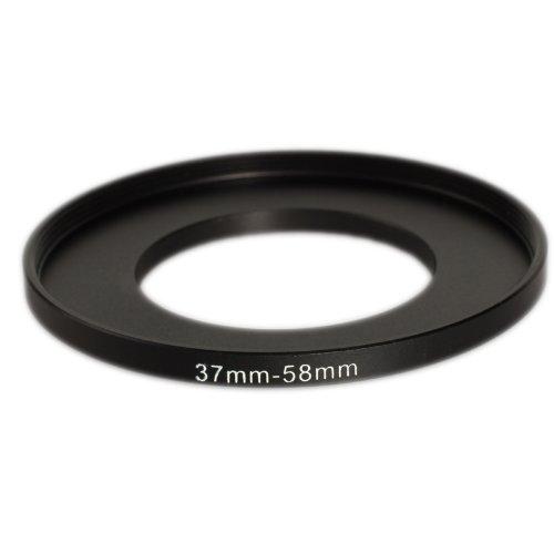 Filigrana de aluminio molido STEP UP Filter Adapter 37mm 58mm anillo adaptador del filtro Permite la instalaci/ón de un filtro de 58 mm de di/ámetro en una lente con rosca frontal de 37 mm.