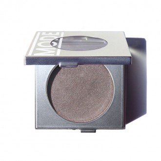MODE Eyeshadow Absolute THUNDER HEART (Frost Pearl Grey Taupe) Natural Pressed Powder Eye Shadow/Potent Color, Exceptional Wear, Skincare Benefits of Pink Peony/Areni Noir Wine Grape Extracts/USA MADE (Velvet Pure Eye Shadow)