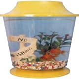 Large Plastic Fish Bowl and Lid 11'