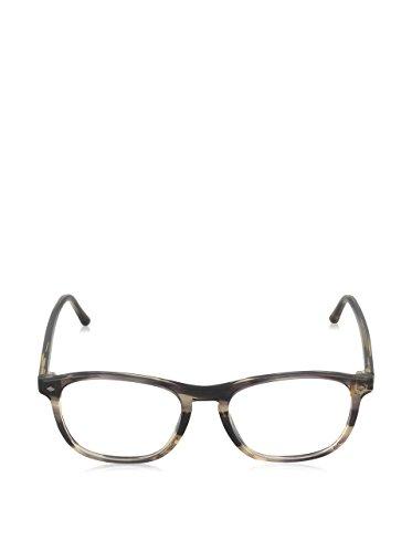 Giorgio Armani Montures de lunettes 7003 Pour Homme Matte Black, 50mm 5442: Striped Brown